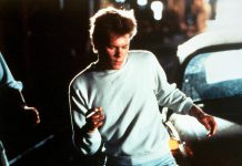 "In 1984's ""Footloose"", Kevin Bacon starred as a teenager who moves to a small U.S. town that has banned dancing. The Ontario government has banned singing and dancing in outdoor dining areas during stage two of the province's reopening during the COVID-19 pandemic. (Screenshot)"