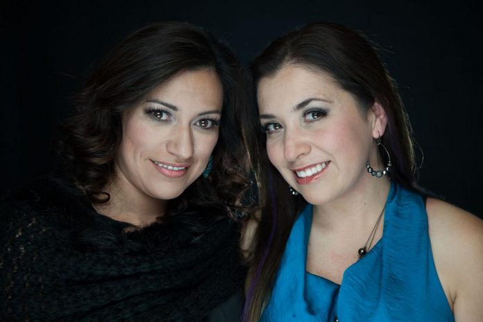 Rosie Salcido and Vange Rodriguez are both natives of Mexico with a passion for makeup who came to Peterborough where they eventually started  a professional and creative face and body painting and maekup business. Vange has since relocated to Delta in British Columbia, where she continues to be involved in the business.  (Photo courtesy of Faces by 2)