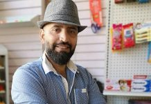 Shahab Stanikzai was a successful businessman in Afghanistan before he fled his native country with his family to escape the Taliban, who wouldn't allow his daughter to go to school. After moving to Peterborough, he started international grocery store Goodies on George in downtown Peterborough. (Photo courtesy of Goodies on George)
