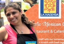 After graduating from university in her hometown of Guadalajara in Mexico, La Hacienda owner Sandra Arciniega met her future husband and moved to Canada. While raising her family, Sandra greatly missed the culture and food of her native country. She opened her popular downtown Peterborough restaurant in 2002 to share authentic Mexican cuisine, based on family recipes, with the local community. (Photo courtesy of La Hacienda)
