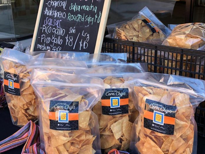 You can find La Hacienda at the Peterborough Downtown Farmers' Market on Wednesdays at Peterborough Square, for a selection of their made-in-house tortillas and salsas. (Photo courtesy of La Hacienda)