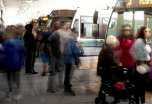 Effective June 28, 2020, Peterborough Transit is reducing the number of bus routes from 12 to nine, with only five routes going directly to the downtown Peterborough bus terminal instead of the current 12. The changes are intended to reduce crowding at the bus terminal as a health and safety measure during the COVID-19 pandemic. Bus drivers were surprised by the announcement of the major overhaul of transit routes and have some concerns with the speed of the changes, according to the local union president. (Photo: City of Peterborough)