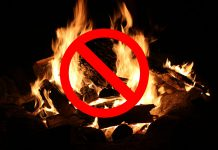 Open-air fire ban