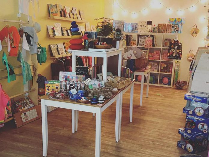 Play Cafe in Peterborough has launched a new family boutique at its 434 Chemong Road location. (Photo: Play Cafe / Facebook)