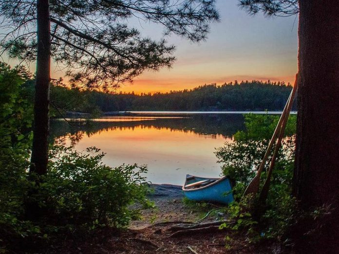 This photo of Cox Lake in Kawartha Highlands Provincial Park by Adam was our top post on Instagram in June 2020. (Photo: Adam @aarmitag / Instagram)