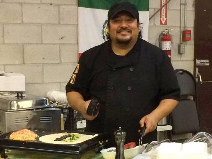 Martin Carbajal came to Canada in 2006 from Mexico City, where he had been cooking since he was 12 years old. Prior to opening La Mesita Restaurante, he ran La Mesita Catering, offering salsas and spreads, burritos, and Mexican food at the Peterborough and Lakefield farmers' markets. While the catering side of the business is still dormant because of the pandemic, the restaurant is serving customers on a larger patio thanks to a joint arrangement with their next-door neighbour, The Garnet. (Photo: La Mesita Catering)