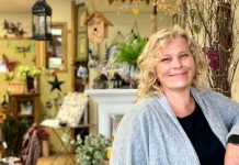 Michelle Gay is the owner of Garden Style Bridgenorth, a home and garden shop located in Sewlyn Township. Following her dream to own her own small business, she purchased the 20-year-old family-owned shop in 2018. Michelle has now reopened her doors and is welcoming her customers back into the store for a COVID-safe shopping experience. (Photo courtesy of Garden Style Bridgenorth)