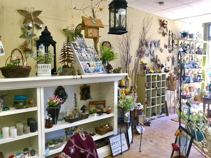 At Garden Style Bridgenorth, owner Michelle Gay offers an wide range of unique items for her customers, who include tourists, visitors, cottagers, and locals. (Photo courtesy of Garden Style Bridgenorth)