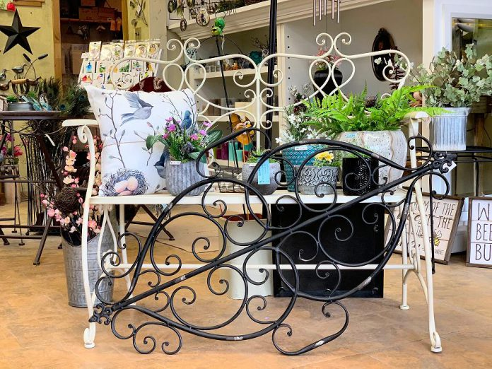 Garden Style Bridgenorth is a locally owned independent home and garden shop offering garden-related items, rustic and vintage items, iron work and metal wall art, wooden items, bee houses, soy candles, pin cushions, tea towels, coasters and fridge magnets, ornaments, greeting cards, and much more. (Photo courtesy of Garden Style Bridgenorth)