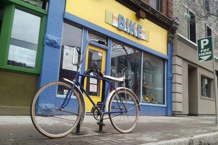B!KE is located at 293 George Street North in downtown Peterborough. (Photo: B!KE)