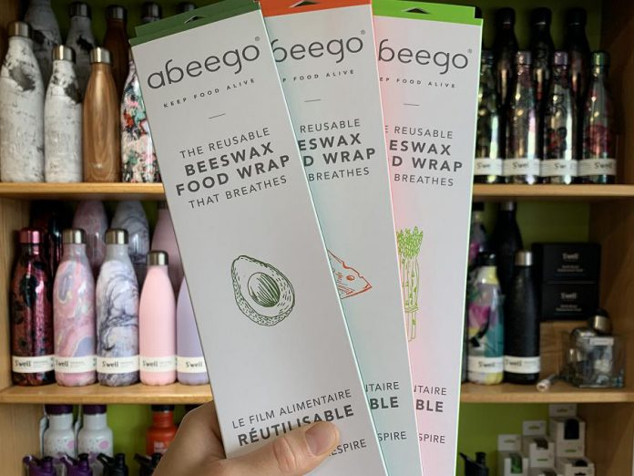 These sustainable alternatives to plastic wrap are a great way to put environmental inaction to use. They last over a year so no more worrying about restocking that pesky plastic wrap. (Photo: Kristen LaRocque / GreenUP)