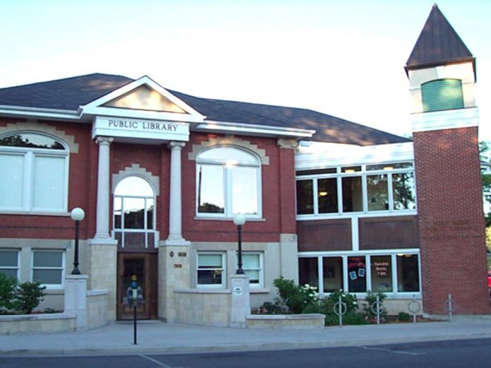 The Mary J. Benson branch of the Port Hope Public Library at 31 Queen Street in Port Hope. (Photo courtesy of Port Hope Public Library)