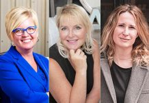 Rhonda Barnet of AVIT Manufacturing, Angela Jones of Lakeshore Designs, and Shelby Leonard-Watt of S.O.S. are the finalists for the 2020 Businesswoman of The Year – Entrepreneur award. Sponsored by the Women' s Business Network of Peterborough and presented by the Greater Peterborough Chamber of Commerce, there is also a Businesswoman Of The Year – Organization award, with finalists Sandra Dueck of the Greater Peterborough Chamber of Commerce, Katie Haddlesey of Curve Lake First Nation, and Rosalea Terry of the Innovation Cluster.
