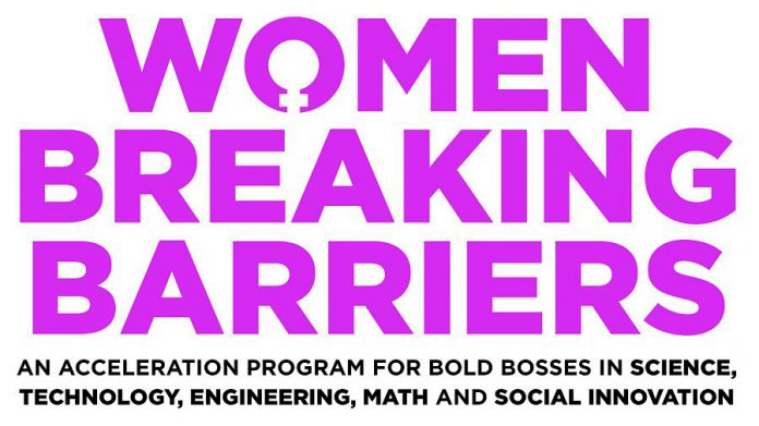 "The Innovation Cluster's new ""Women Breaking Barriers"" business accelerator program will provide learning, growth, and financing opportunities for women-led startups with fewer than 10 employees, or for those who are just at the idea stage. (Graphic courtesy of Innovation Cluster - Peterborough and the Kawarthas)"