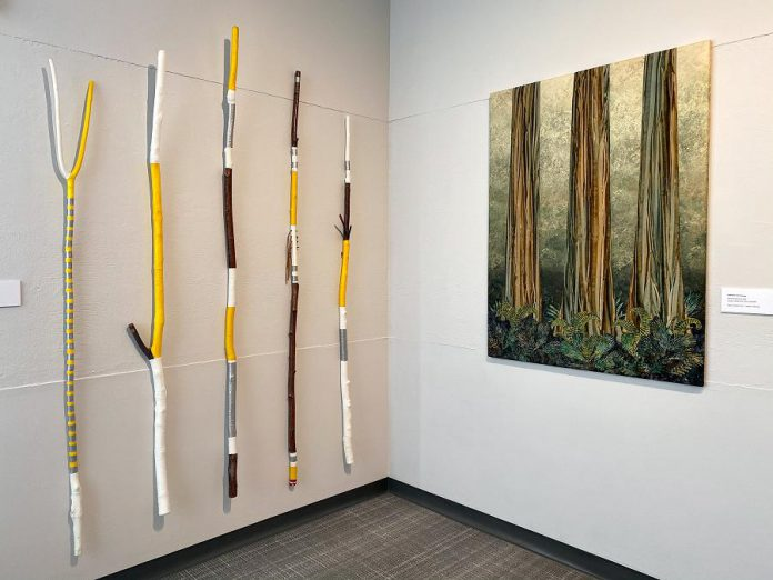 """Some of the work on display at the Art Gallery of Peterborough's """"Selections"""" exhibition for the 36th annual Kawartha Autumn Studio Tour.  (Photo courtesy of the Art Gallery of Peterborough)"""