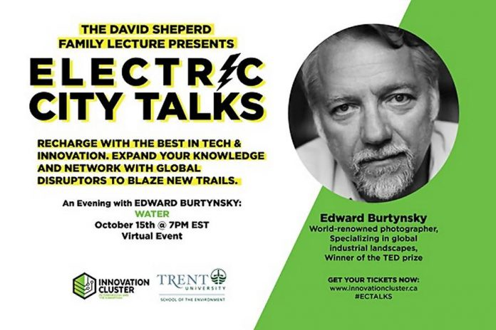 Electric City Talks - An Evening with Edward Burtynsky