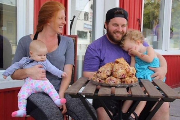 Jessica Root and Jason Butler, owners of Pizza by The Bakery. (Photo: GoFundMe)