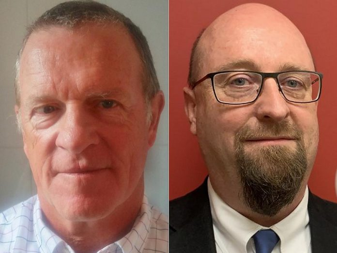 Jim Hendry is the new chair of the board of United Way Peterborough and District and Marcus Harvey is the 2020 United Way campaign chair. (Supplied photos)
