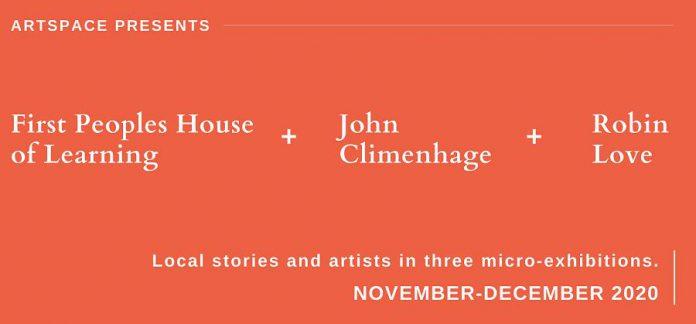 Artspace presents three micro-exhibitions in Peterborough