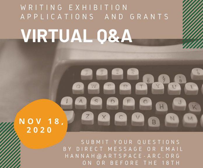Artspace hosts a virtual Q&A