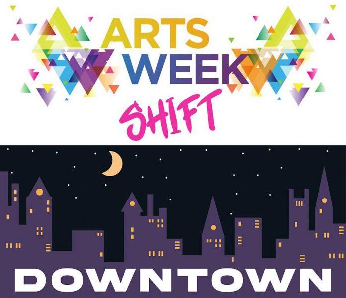 Artsweek Peterborough presents Artsweek SHIFT: Downtown