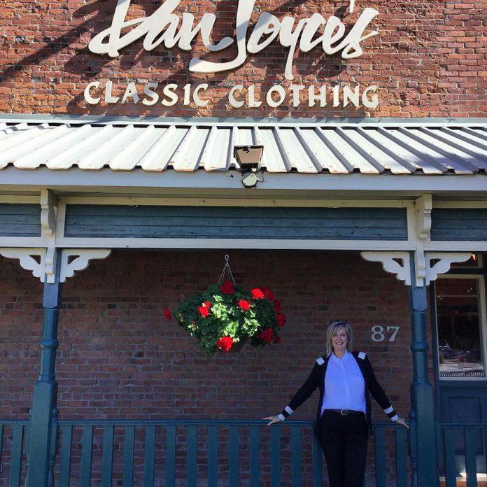 Nancy Wiskel purchased Dan Joyce Clothing one year ago. (Photo: Dan Joyce Clothing)