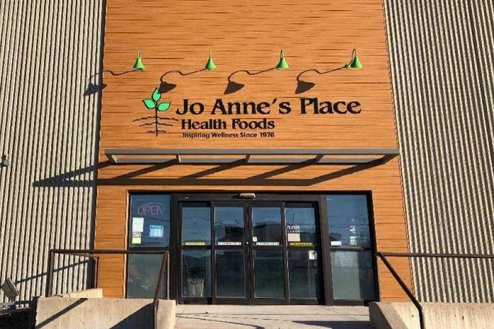 Jo Anne's Place at 1260 Lansdowne Street in Peterborough re-opened on October 23, 2020. It had temporarily closed for a day for professional cleaning and sanitization after an employee tested positive for COVID-19. (Photo: Jo Anne's Place)