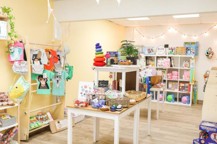Lavender and Play's boutique and online store feature a thoughtfully curated collection of ethically made and environmentally friendly products made from natural materials as well as merchandise from 12 local makers and artisans, including watercolour prints, body and bath products, wooden and crochet toys, sensory tools, playdough, and much more. (Photo: Heather Doughty)