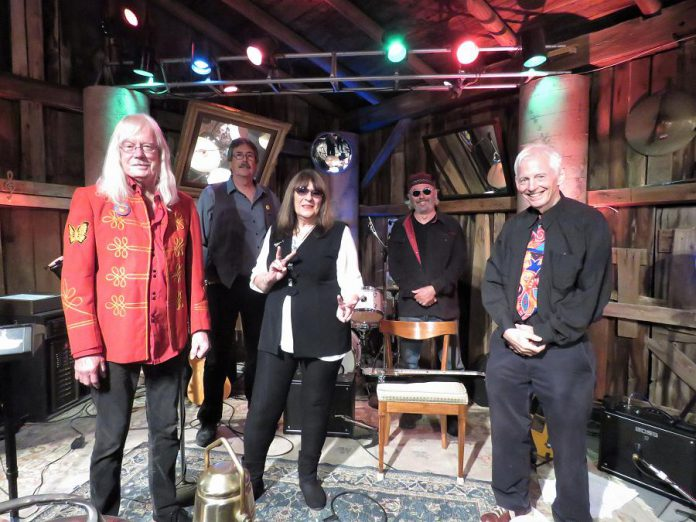 "Peterborough's British music invasion specialists The Rick & Gailie Band is one of six local music acts featured in the second series of ""Live! At The Barn"", produced, recorded, and edited by Andy Tough at the Norwood-area barn he owns with his wife Linda. The second series will premiere on YouTube in mid-January 2021. (Photo: Linda Tough)"