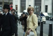 Season four of The Crown takes us into the 1980s, when Queen Elizabeth clashes with Prime Minister Margaret Thatcher while Prince Charles enters a tumultuous marriage with Lady Diana Spencer (performed by relative newcomer Emma Corrin). Season four premieres on Netflix Canada on Sunday, November 15th. (Photo: Netflix)