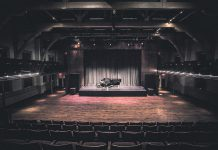 According to the Peterborough Performing Arts Recovery Alliance, a coalition of 13 arts organizations and live performance venues in Peterborough and the surrounding region, the future of local performing arts is in immediate jeopardy due to the continuing pandemic. For example, Market Hall Performing Arts Centre in downtown Peterborough is still carrying $10,000 in monthly expenses, despite having reduced its pre-pandemic expenses by between $30,000 to $50,000, with no revenue coming in. (Photo; Bradley Boyle)