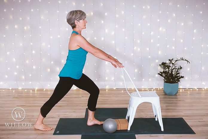 "For students who are being extra cautious due to the pandemic, The Willow Studio offers the ""Willow at Home"" series of high-quality, professionally filmed videos that will give you relaxation, energy, flexibility and strength: the Core & Floor Collection, the Prenatal Collection, and the Healthy Aging Collection. (Photo: The Willow Studio)"