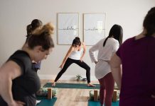 In response to the pandemic, The Willow Studio in Peterborough is now offering physically distanced in-person yoga and Pilates classes, as well as expanded virtual options for students who prefer to practice in their own homes. (Photo: Jenn Austin Driver Photography)