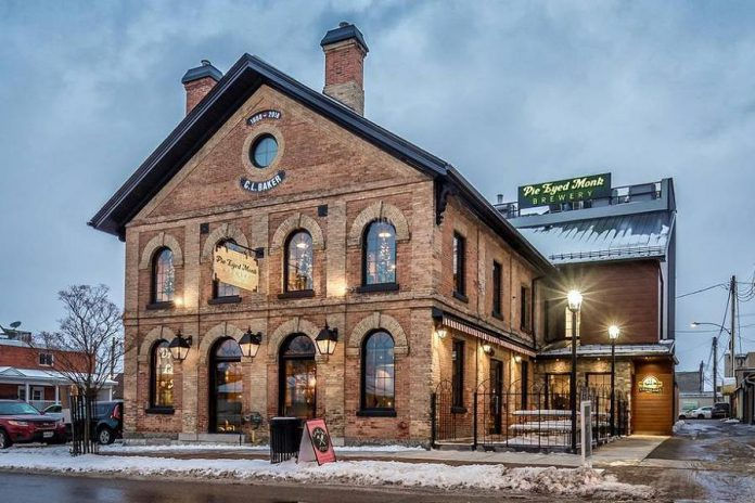 """""""A Night of One Act Plays"""" takes place on December 11 and 12, 2020 at the Pie Eyed Monk Brewery at 8 Cambridge Street North in historic downtown Lindsay. (Photo courtesy of Pie Eyed Monk Brewery)"""