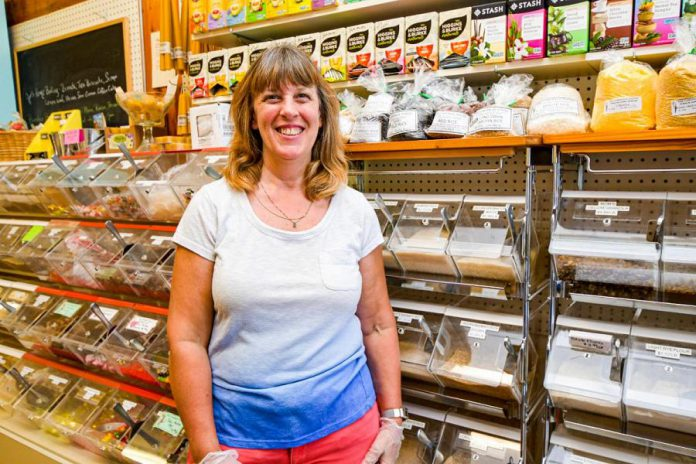 Jennie MacKenzie of Lakefield Pantry and Bakeshop, which is celebrating its 40th anniversary. (Photo: Kawartha Chamber of Commerce & Tourism)