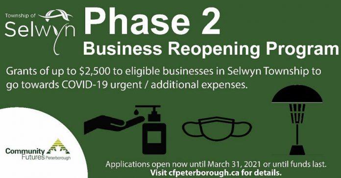 Selwyn Township Business Reopening Program