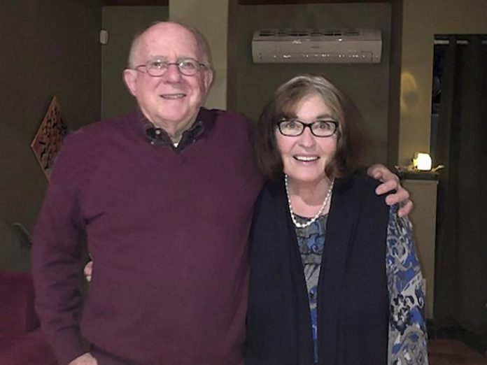 Local philanthropists David and Patricia Morton have donated $50,000 in support of YWCA Women's Centre of Haliburton County Outreach Services. (Supplied photo)