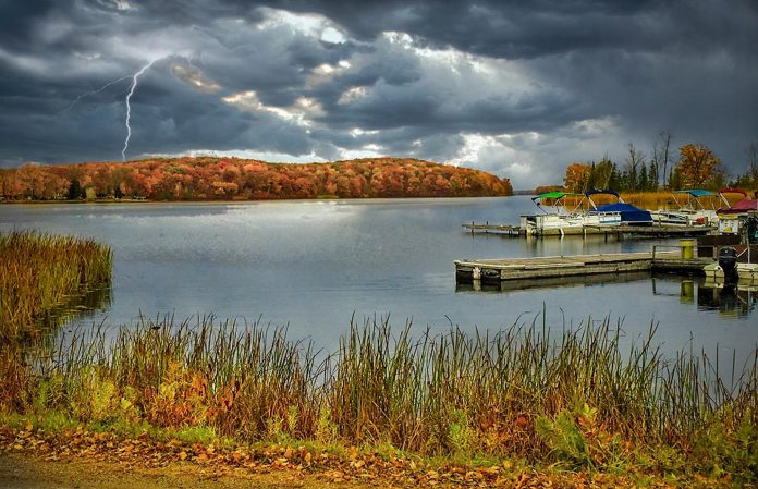 """Lightning Lake"" won second place in the 2020 #PicturePtboCounty contest. (Photo: Barry Mortin)"