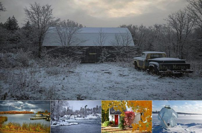 "Molly Cadigan won first place and $250 for her submission ""Heritage Matters"" (top) in Peterborough County's #PicturePtboCounty photo contest. Barry Mortin (bottom left) won second place, with Connie Kot, James Forrester, and David Frey receiving honourable mentions for their submissions. (Supplied photos)"