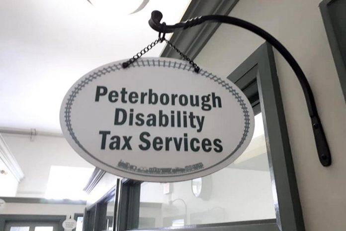 Saunders Tax Service is located at Peterborough Disability Tax Services at 175 George Street North in downtown Peterborough. (Photo: Peterborough Disability Tax Services / Facebook)