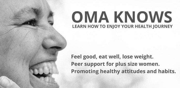 Sharyn Inward's business Oma Knows helps plus-size women enjoy a healthy lifestyle. (Graphic: Oma Knows / Facebook)