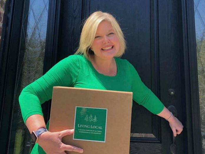 Living Local Box owner Alicia Doris. (Photo: Living Local Box / Facebook)
