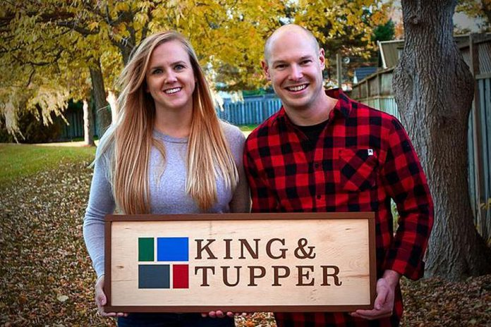 Amy and Dean Howley, owners of King & Tupper. (Photo: King & Tupper / kingandtupper.ca)