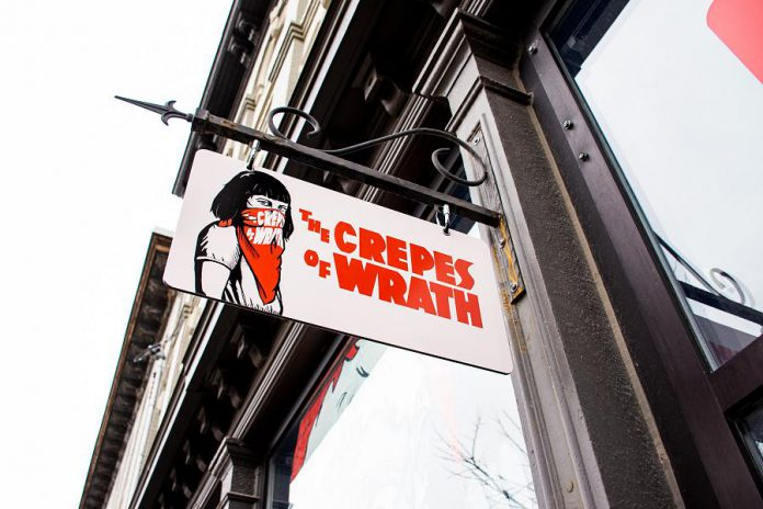 The Crepes of Wrath is located at 170 Hunter Street West in downtown Peterborough. (Photo: Peterborough Downtown Business Improvement Area)