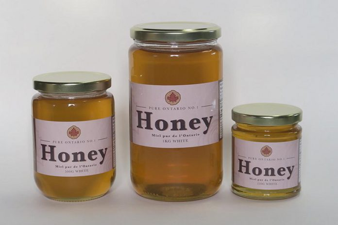 Award-winning honey from Fleetwood Hills Farm in Janetville. (Supplied photo)