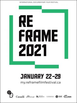 The virtual ReFrame Film Festival runs from January 22 to 29, 2021. (Poster: Jordan Bowden)