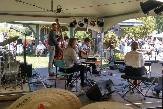 A performance at the 2018 Lakefield Jazz, Art & Craft Festival. Organizers have cancelled the 2021 event, originally scheduled for July 3, due to the ongoing uncertainty around the COVID-19 pandemic. (Photo: Lakefield Jazz, Art & Craft Festival / Facebook)