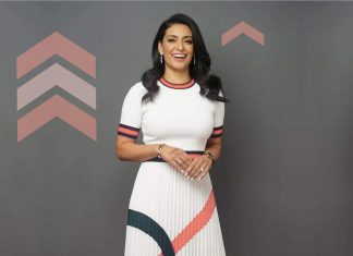 """Manjit Minhas, founder of the 10th largest brewery in the world and one of the """"dragons"""" on CBC's popular Dragons' Den TV series, is one of the keynote speakers at the StrikeUP virtual conference for female entrepreneurs, hosted by Northumberland CFDC on March 4, 2021. (Photo via StrikeUP website)"""