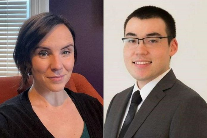 Michael Tamane and Hillary Manion have joined the Peterborough & the Kawarthas Business Advisory Centre. (Supplied photos)