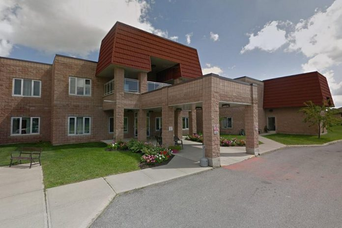 Caressant Care McLaughlin Road is a 96-bed long-term care home in Lindsay. (Photo: Google Maps)